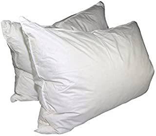 Hotel Feather and Down Standard Size Bed Pillow Set (2 Pack)