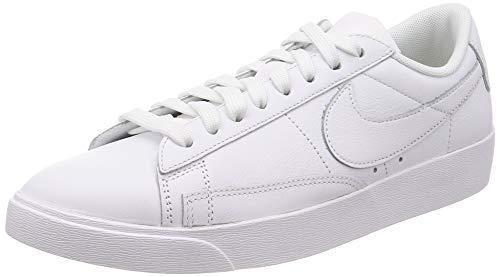Nike W Blazer Low LE, Zapatillas de Deporte Mujer, Blanco (White/White/White 111), 38 EU