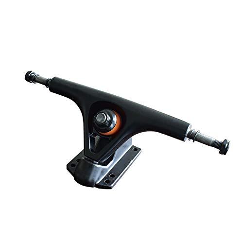 Skateboard Grip Tape Skateboard Trucks,Gravity Casting Skate Trucks Profession 7 Inch,Aluminum Alloy Skateboard Trucks, Set of 2 for Skateboard,Rollerboard,Scooter ect (Color : Black)