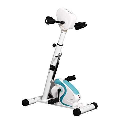 DXFK.AM Electrónico Ejercitador De Pedal Bicicleta De Rehabilitación Terapia Física Entrenador Brazo Pierna Ejercitador Salud Recuperación Ejercitador De Pedal para Discapacitados,A