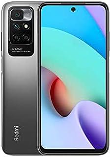 Xiaomi Redmi 10 Dual SIM 6.497 Inch FHD+ Punch Hole Display Carbon Gray 4GB RAM 128GB 4G LTE + Free Mi True Wireless Earbu...