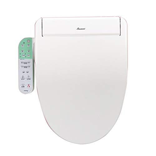 Sedile del Water Famiglia Riscaldata Copriwater Sedile WC Caldo Home Multifunzione Coprivaso WC Coprire Smart Copertura Igienica Bianca (Color : Bianca, Size : 51cm/20.1inches)