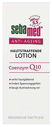 Sebamed Anti-Ageing Hautstraffende Body Lotion 200ml, hilft, die Haut vor Austrocknung zu schützen, Juckreiz und Spannungsgefühl zu lindern und gegen vorzeitige Alterung vorzubeugen