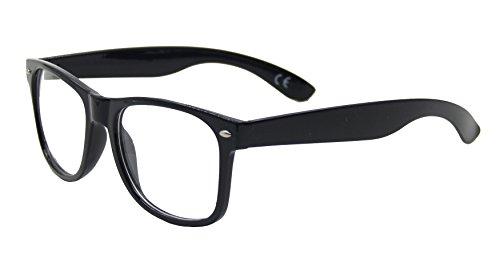 ASVP Shop® Ultimative Beugungsbrille, Prismenbrille, Regenbogen, Feuerwerk, Rave, Lightshow, Laser, Refraktion, Defraktion oder EDM-Brille. Gr. M, Beugung schwarz