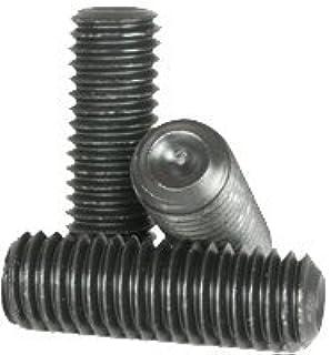 Length: 3//4 inch Fine Thread Socket Set Screw Black Oxide Cup Point 3//8 inch Grub//Blind//Allen//Headless Screw 3//8-24 x 3//4 Quantity: 100 Hex Socket Alloy Steel