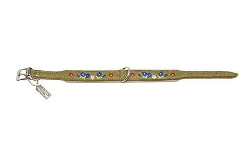 Karlie 521461 Halsband Filz Enzian L: 50 cm B: 35 mm grün