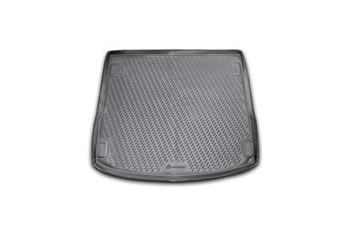 Element EXP.CARFRD00004 Passgenaue Premium Antirutsch Laderaumwanne Kofferraumwanne Ford Focus III MK3 Turnier 04/2011-2018 Kombi, Schwarz, Passform