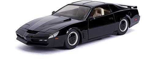 Jada 1: 24 Hollywood Rides Knight Rider KITT with Light Pontiac Firebird 30086, Black