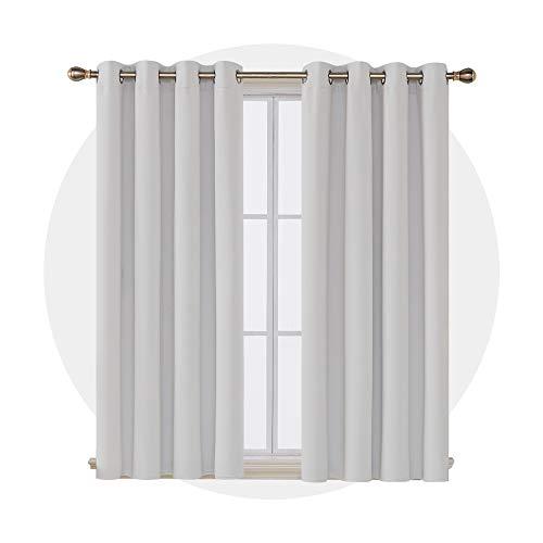 Deconovo Cortinas Opacas Dormitorio Moderno para Habitacion 2 Piezas 1