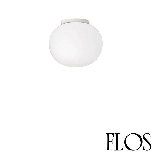 Flos Glo-Ball C/W ZERO wandlamp wit glas F3335009 Jasper Morrison 2009