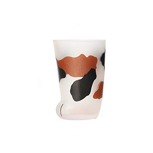 Taza de agua Taza de tigre de tigre de cristal lindo creativo taza taza taza taza taza desayuno leche de porcelana envase (Color : A)