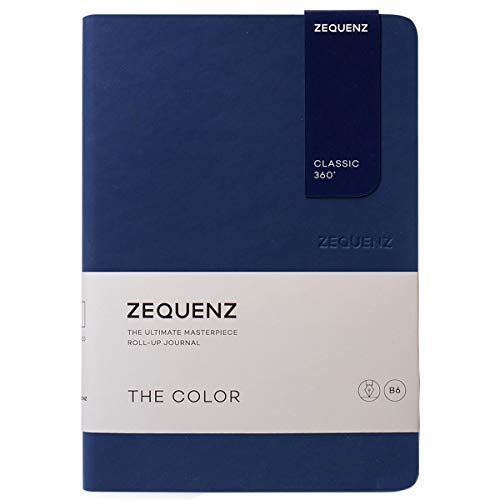 Zequenz Classic 360 The Color B6 Notebook, Dotted, Dark Navy