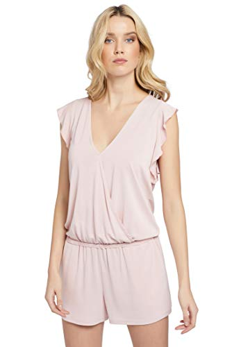 khujo Damen Jumpsuit Mint 1054JS191 Pink L