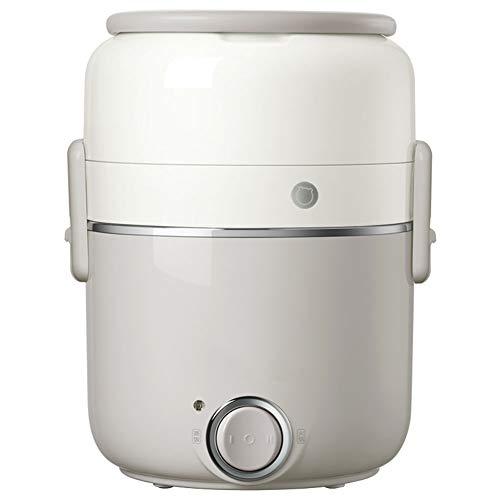 Elektrische snelkookpan, 2L roestvrij stalen pot draagbare fornuizen, het verwarmen 600W versnellingsbak, 2-3 mensen gebruiken, traag, rijstkokers, stoomboten, keukenapparatuur