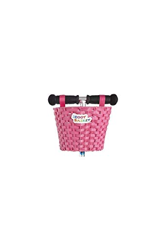 Cesta Scoot: Rosa