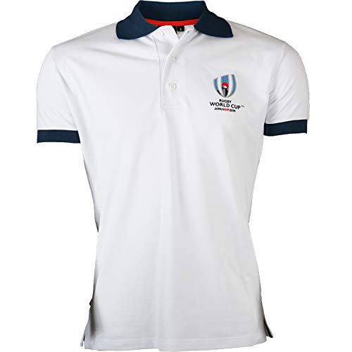 Polo Coupe du Monde DE Rugby 2019 - Collection Officielle Rugby World Cup - Taille Homme S