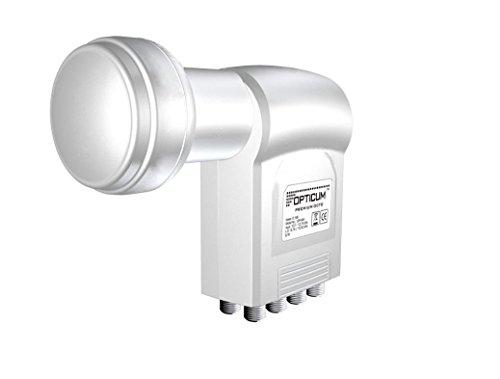 Opticum 3717 - LNB para equipos por satélite, blanco (importado)