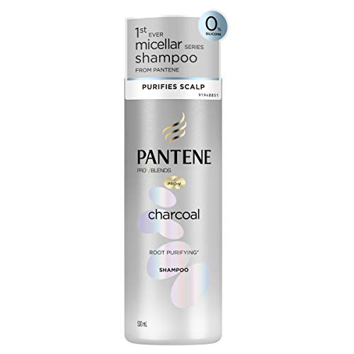 Pantene Pro V Blends Micellar Charcoal Shampoo For Purifying Oily Hair 530ml