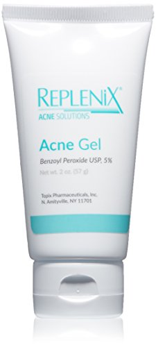 Replenix Acne Solutions Benzoyl Peroxide Gel Spot Treatment, 5% Gel