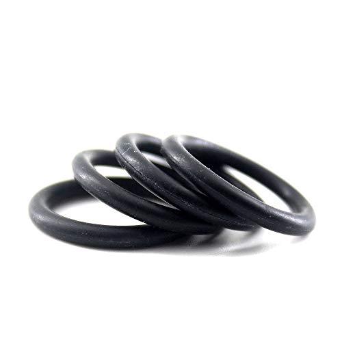 Xinanlongjb ZZB-LSTH, Negro NBR O Ring Seal Gasket 2,4 mm Espesor O Anillo de Cierre Lavadora 20,5/21/22/23/24/34/35 mm OD 70 Dureza O Anillo de obturación (Color : 100pcs, Size : 27x22.2x2.4m