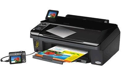 Epson Stylus SX405 - Impresora multifunción (Inyección de Tinta, Impresión a Color, 5760 x 1440 dpi, 120 Hojas, A4, Impresión Directa)