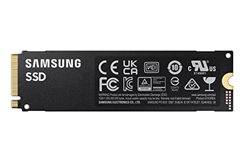 Samsung Memorie MZ-V8P2T0B 980 PRO SSD Interno da 2TB, PCIe Gen 4.0 x4, NVMe 1.3c, M.2 (2280), Nero