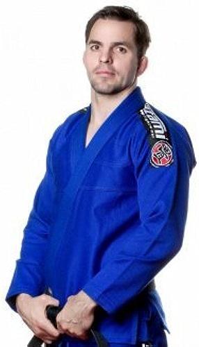 Tatami Bleu Pour Hommes Nova Ju Jitsu Gi - W  Ceinture Blanche Gratuite