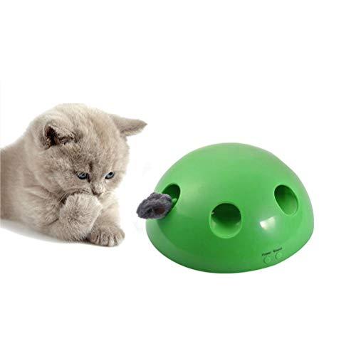 Bozaap Juguete para Gatos eléctrico Juguete para Gatos Interactivo Ju