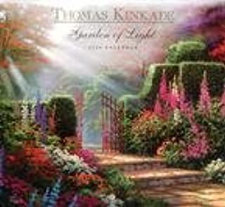 Thomas Kinkade Garden of Light 2008 Mini Wall Calendar