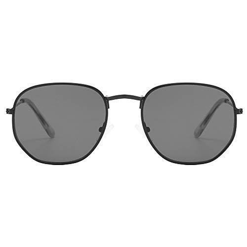 RUIXIAO Gafas de Sol cuadradas pequeñas para Hombres y Mujeres Gafas Retro...
