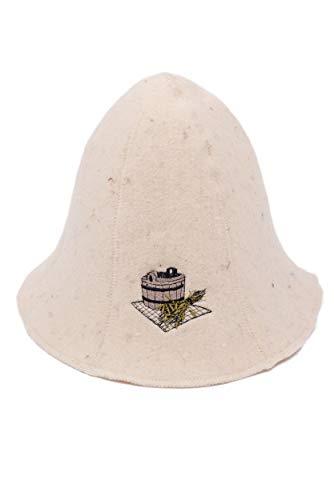 MagiDeal Saunam/ütze // Saunahut // Saunakappe aus Filz Sauna Zubeh/ör Hut M/ütze Kappe Kopfbedeckung f/ür Sauna # 11