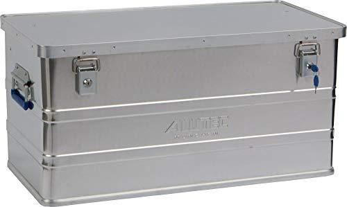 ALUTEC MÜNCHEN 2011093 Aluminiumbox Classic mit Zylinderschloss 780 x 380 x 380 mm, Silber
