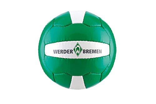 SV Werder Bremen Logo Ball Fußball (grün/weiß, 5)
