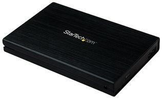StarTech.com Externes 2,5 Zoll SATA III 6 GB/s SSD USB 3.0 SuperSpeed Festplattengehäuse mit UASP, 2,5 Zoll (6,4cm) HDD Gehäuse aus Aluminium