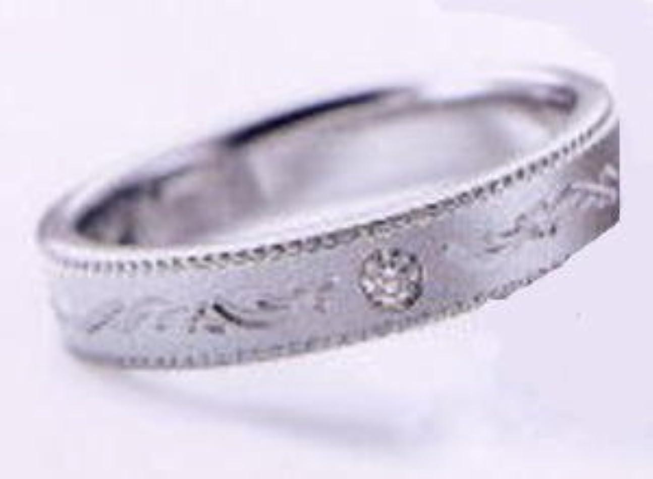赤外線深遠麻酔薬RomanticBlue ロマンティックブルー 4RK019 (27) ダイヤ付 Pt900プラチナ マリッジリング 結婚指輪 ペアリング (11)