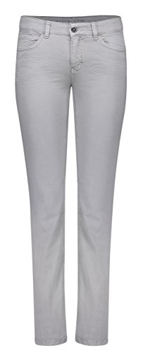 MAC Damen Hose Dream, Grau (Light Ash Grey 053V), 34 / L34