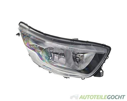 Depo Hauptscheinwerfer Scheinwerfer H1 H7 Mit Motor Rechts für 0005801473749, 5801473749 von Autoteile Gocht