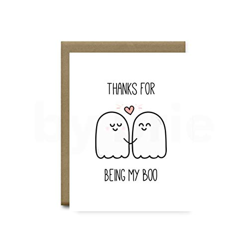 Anniversary Card, Halloween Anniversary, Funny Gift for Boyfriend or Husband by brie