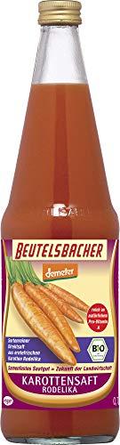 Beutelsbacher Bio Karottensaft erntefrisch Rothild/Rodelika (6 x 700 ml)
