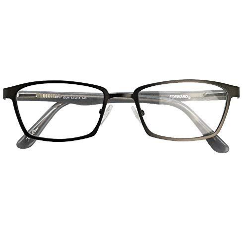 SHOWA 遠近両用メガネ フォワード (メンズセット) 全額返金保証 境目のない 遠近両用 眼鏡 老眼鏡 おしゃれ メンズ 男性 リーディンググラス (瞳孔間距離:57mm〜59mm, 近くを見る度数:+3.0)
