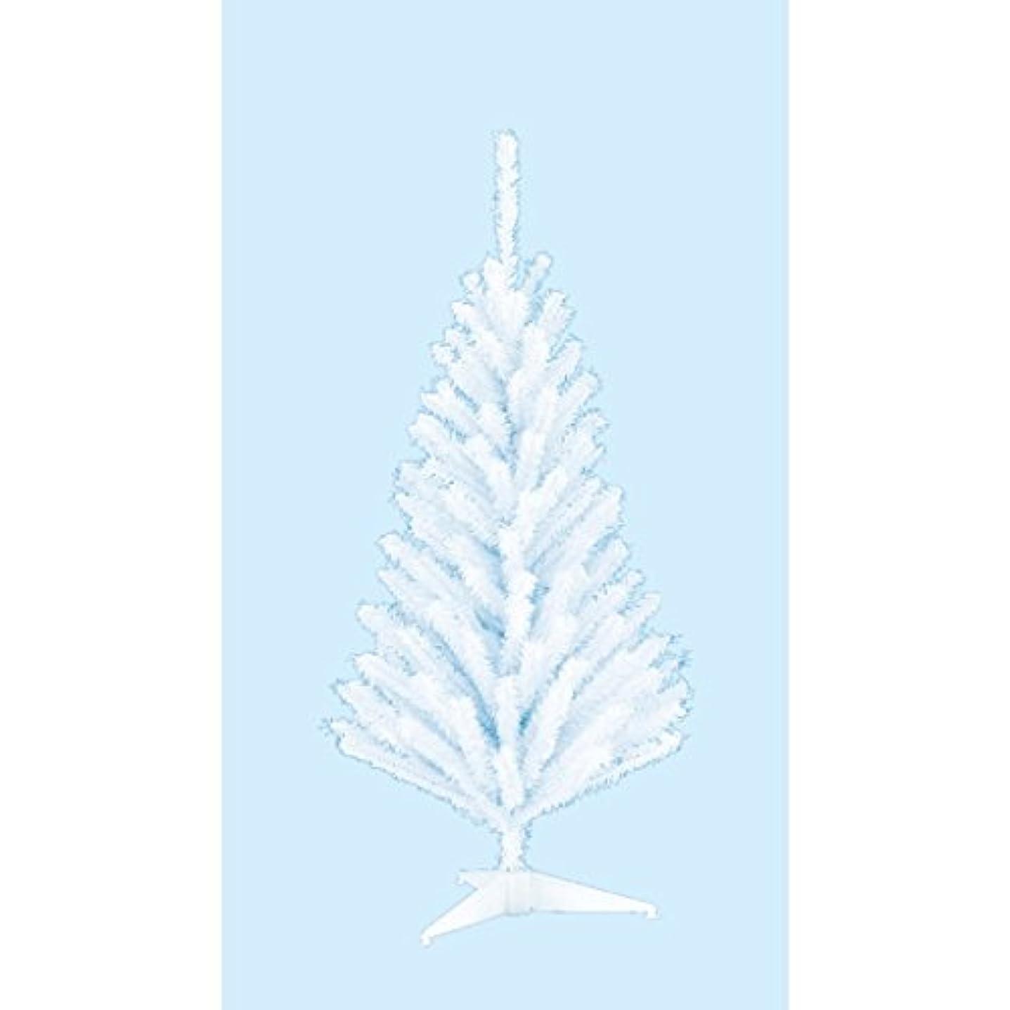 浅い症状香ばしい60cmホワイトミニツリー【防炎加工】(TXM2034LL)[クリスマス ツリー デコレーション 装飾 飾り]