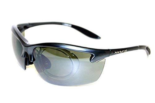 NAVIGATOR Spider - Occhiali da Sole Sportivi, da Ciclismo, Lenti UV, 30 g