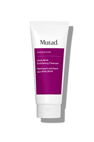 Murad AHA/BHA Exfoliating Cleanser - Triple Action Exfoliating Facial Cleanser with Salicylic, Lactic and Glycolic Acid- Skin Smoothing Polish, 6.75 Fl Oz (Packaging May Vary)
