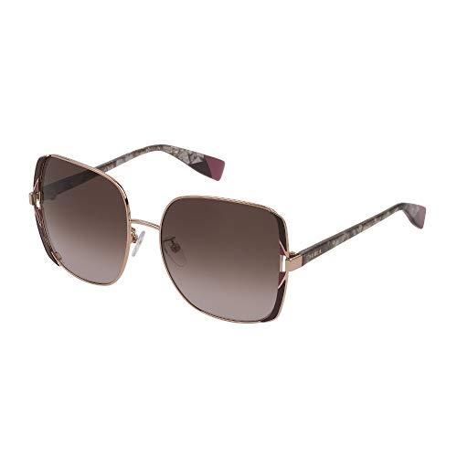 Fula - Gafas de sol SFU343 08M6 57-17-135 para mujer, camello tano, brillantes, color rosa