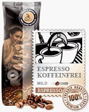 Coffee-Nation Espresso Lunata Koffeinfrei 1kg