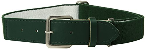 Augusta Sportswear Elastic Baseball Belt, Dark Green, One Size
