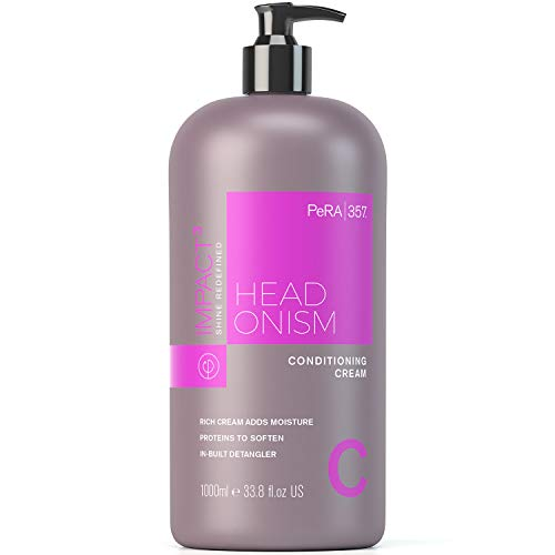 PERACHEM PeRa357 Impact Conditioning Cream Hair Conditioner, Softens Repairs Damaged Hair, Deep Conditioning - Ideal for Dry Hair, Adds Shine, Nourishes (1000ml Bottle)