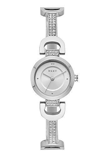 DKNY Damen-Uhren Analog Quarz One Size Edelstahl 87549674