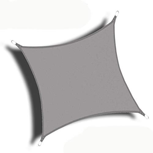Lingle888 Sun Shade Sail Garden Patio Awning Canopy Sunscreen 98% UV Block Custom 10 Colour 21sizes (1.5x2, Grey)