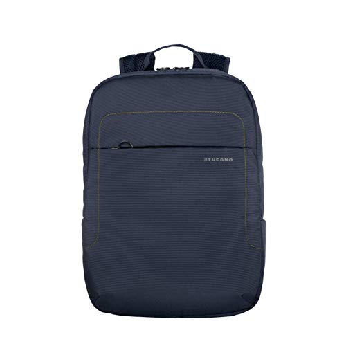Ultraslim light backpack made of technical fabric for 13.3 inch / 14 laptops, MacBook Air 13 inch / MacBook Pro 13 inch, padded inner pocket for notebook, tablet or iPad, security pocket on the backrest